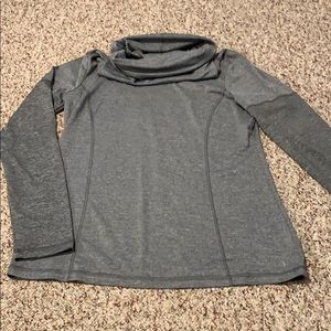 Cow neck sweatshirt